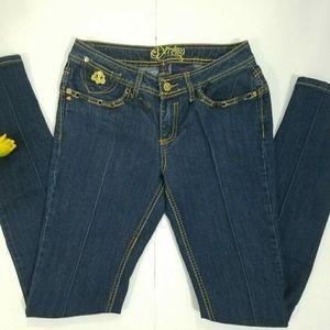 Dereon Beyonce skinny jeans Dark Blue Size 5/6